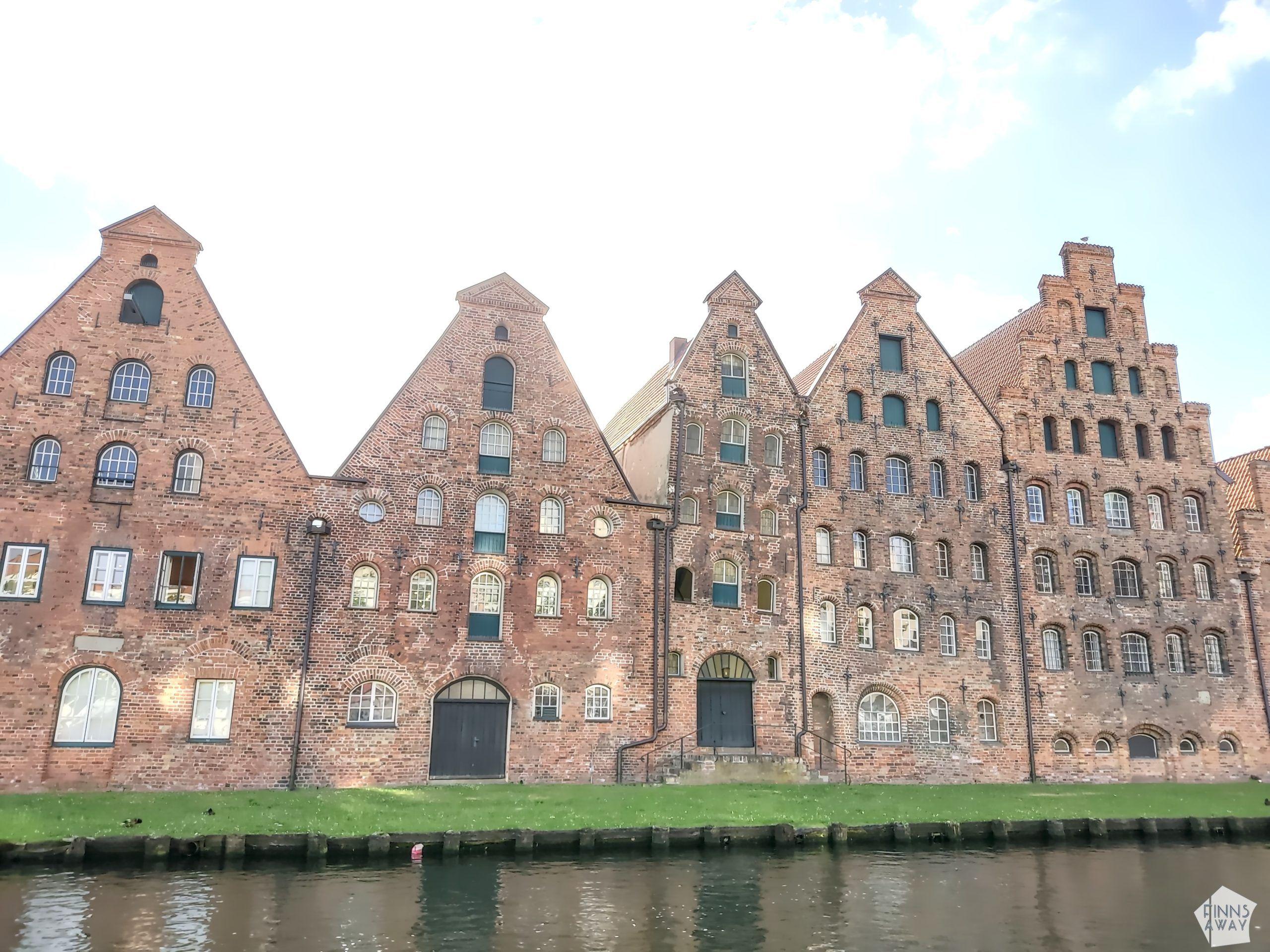 Die Salzspeicher, Salt Storages   Postcards from Lübeck, Germany   FinnsAway Travel Blog