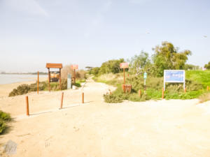 Starting point of the Aphrodite Trail Larnaca Cyprus | FinnsAway blog