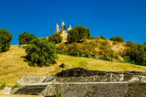 Archaeological zone of Cholula | Mexico | FinnsAway Travel Blog