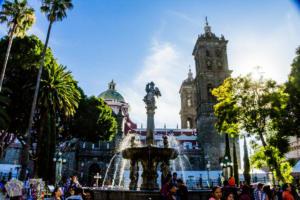 Zocalo, the main square of Puebla | Mexico | FinnsAway Travel Blog