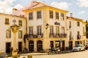 Central square in Constancia old town