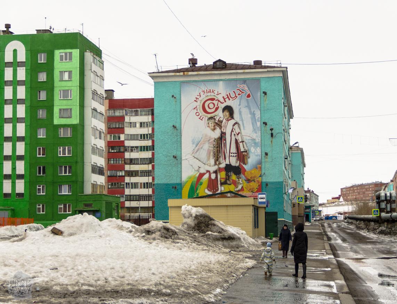 Dudinka - a city built on permafrost