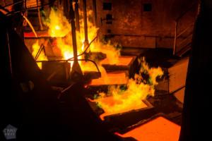 In a Nornickel Copper Plant