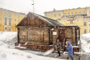 The first house ever built in Norilsk