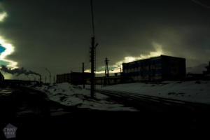 From along the road between Dudinka and Norilsk