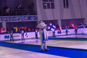 Opening Ceremony of the Arctic Curling Cup