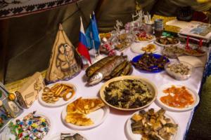 Traditional cuisine of Taymyr region