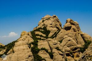 The Elephant and the Monkey peaks | Hiking in Montserrat Mountain Nature Park, Catalonia Spain. | FinnsAway Nomad Travels